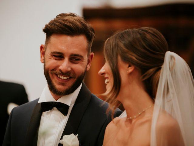 Il matrimonio di Mattia e Francesca a Arcevia, Ancona 75