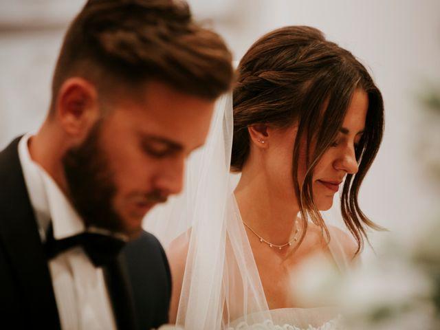 Il matrimonio di Mattia e Francesca a Arcevia, Ancona 77