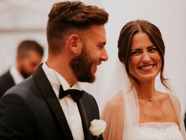 Il matrimonio di Mattia e Francesca a Arcevia, Ancona 79