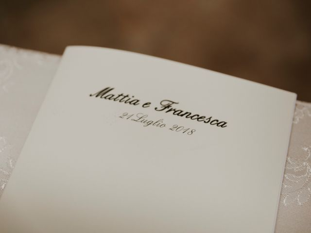 Il matrimonio di Mattia e Francesca a Arcevia, Ancona 81