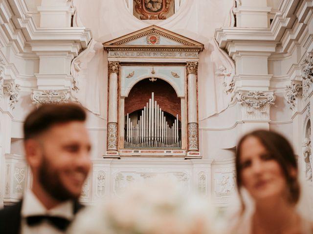 Il matrimonio di Mattia e Francesca a Arcevia, Ancona 86