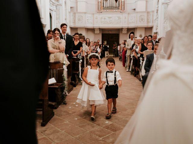 Il matrimonio di Mattia e Francesca a Arcevia, Ancona 92