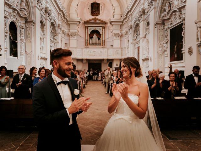 Il matrimonio di Mattia e Francesca a Arcevia, Ancona 98