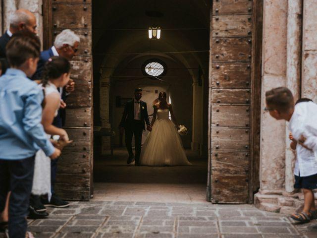 Il matrimonio di Mattia e Francesca a Arcevia, Ancona 101