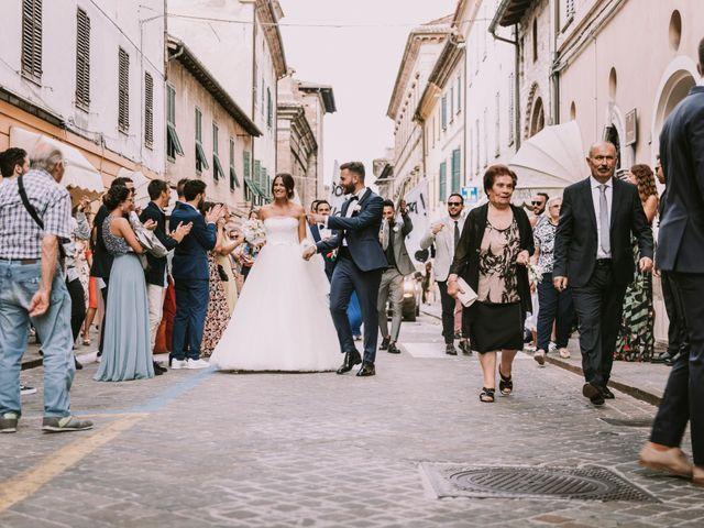Il matrimonio di Mattia e Francesca a Arcevia, Ancona 105