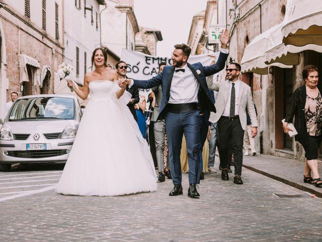 Il matrimonio di Mattia e Francesca a Arcevia, Ancona 106