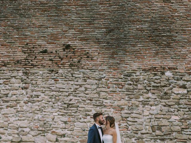 Il matrimonio di Mattia e Francesca a Arcevia, Ancona 107