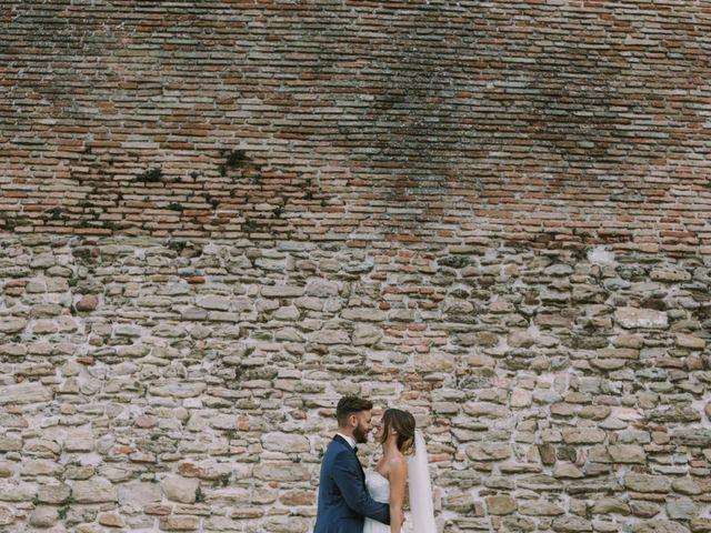Il matrimonio di Mattia e Francesca a Arcevia, Ancona 108