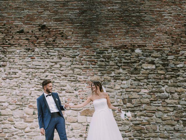 Il matrimonio di Mattia e Francesca a Arcevia, Ancona 109