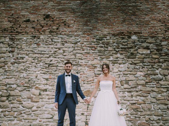 Il matrimonio di Mattia e Francesca a Arcevia, Ancona 110