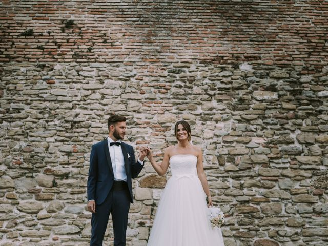 Il matrimonio di Mattia e Francesca a Arcevia, Ancona 111