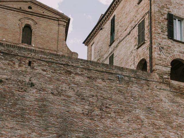 Il matrimonio di Mattia e Francesca a Arcevia, Ancona 112