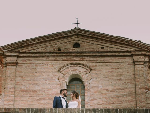 Il matrimonio di Mattia e Francesca a Arcevia, Ancona 113