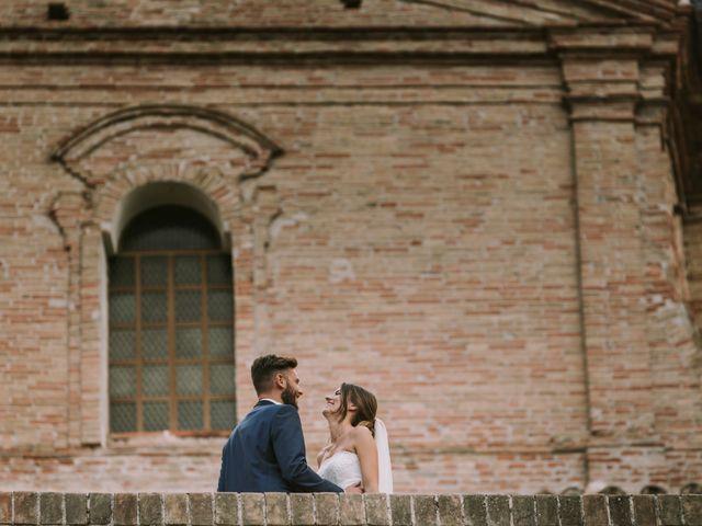 Il matrimonio di Mattia e Francesca a Arcevia, Ancona 114