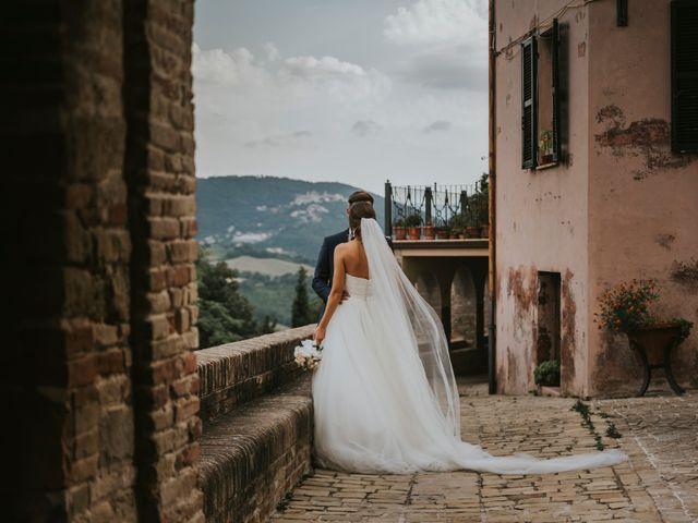 Il matrimonio di Mattia e Francesca a Arcevia, Ancona 117