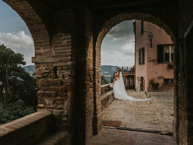 Il matrimonio di Mattia e Francesca a Arcevia, Ancona 118