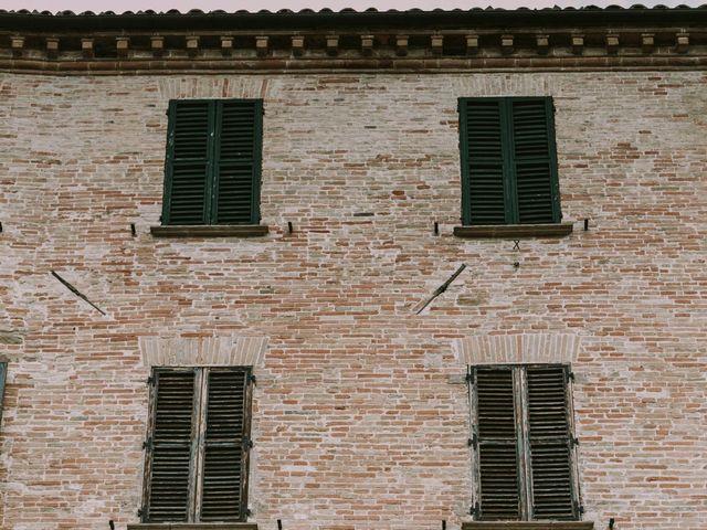 Il matrimonio di Mattia e Francesca a Arcevia, Ancona 120