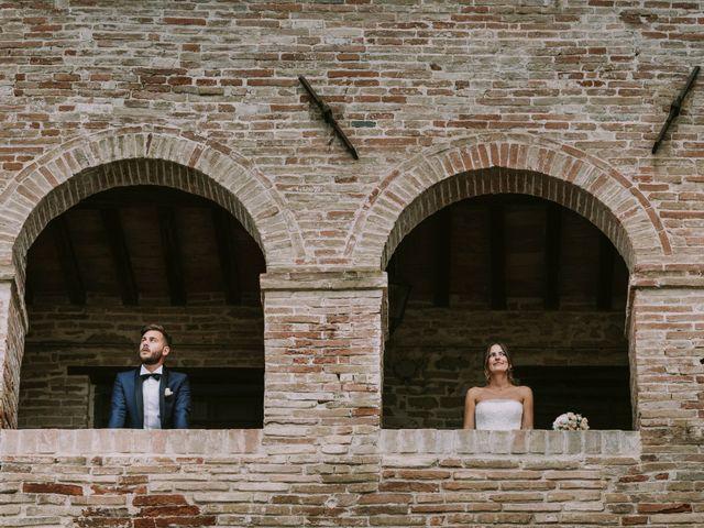 Il matrimonio di Mattia e Francesca a Arcevia, Ancona 121