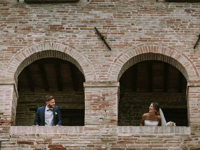 Il matrimonio di Mattia e Francesca a Arcevia, Ancona 122