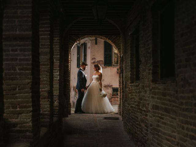Il matrimonio di Mattia e Francesca a Arcevia, Ancona 123