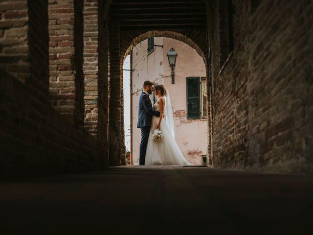 Il matrimonio di Mattia e Francesca a Arcevia, Ancona 124