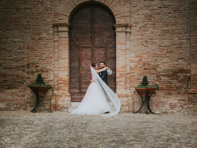 Il matrimonio di Mattia e Francesca a Arcevia, Ancona 125