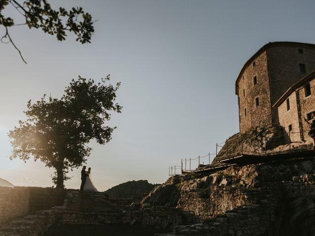Il matrimonio di Mattia e Francesca a Arcevia, Ancona 126