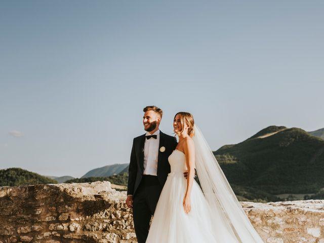 Il matrimonio di Mattia e Francesca a Arcevia, Ancona 130