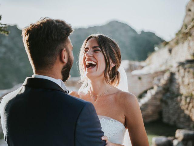 Il matrimonio di Mattia e Francesca a Arcevia, Ancona 138