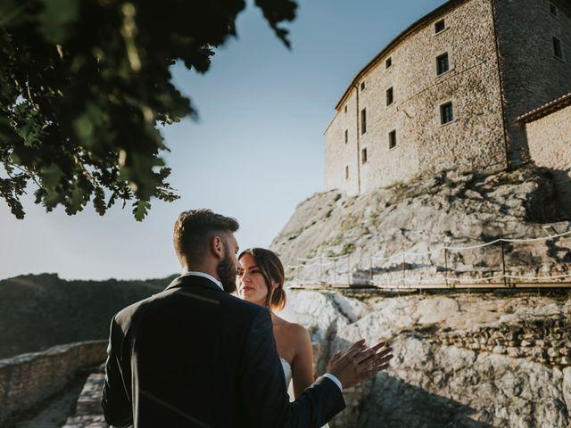 Il matrimonio di Mattia e Francesca a Arcevia, Ancona 139