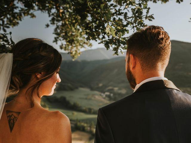 Il matrimonio di Mattia e Francesca a Arcevia, Ancona 141