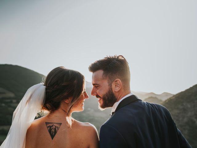 Il matrimonio di Mattia e Francesca a Arcevia, Ancona 144