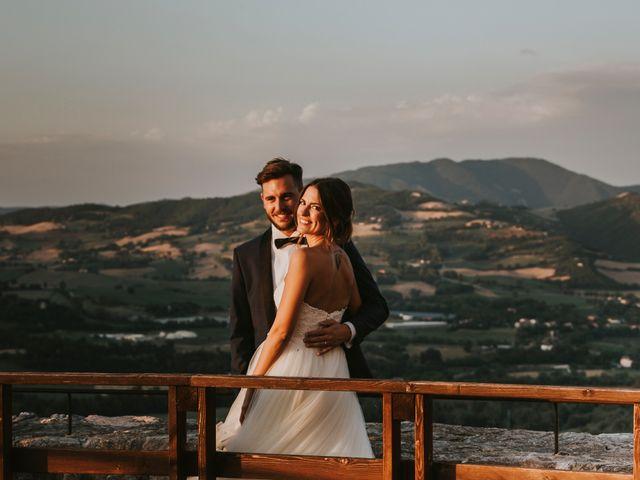 Il matrimonio di Mattia e Francesca a Arcevia, Ancona 160