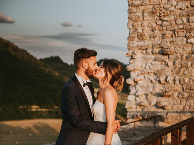 Il matrimonio di Mattia e Francesca a Arcevia, Ancona 162