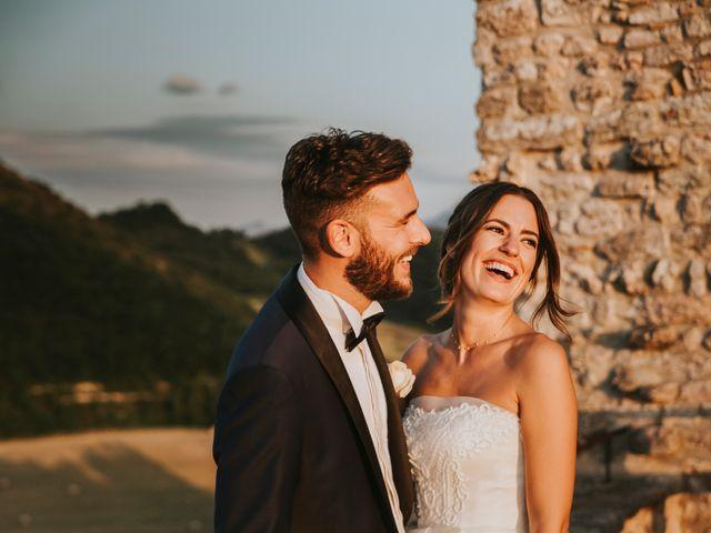 Il matrimonio di Mattia e Francesca a Arcevia, Ancona 164