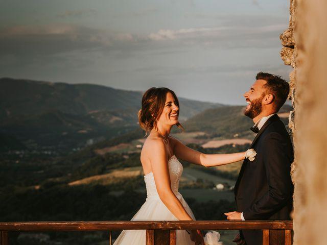 Il matrimonio di Mattia e Francesca a Arcevia, Ancona 171