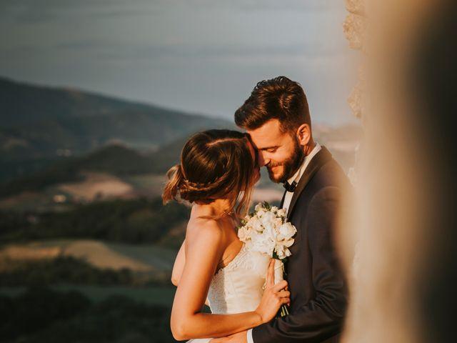 Il matrimonio di Mattia e Francesca a Arcevia, Ancona 173