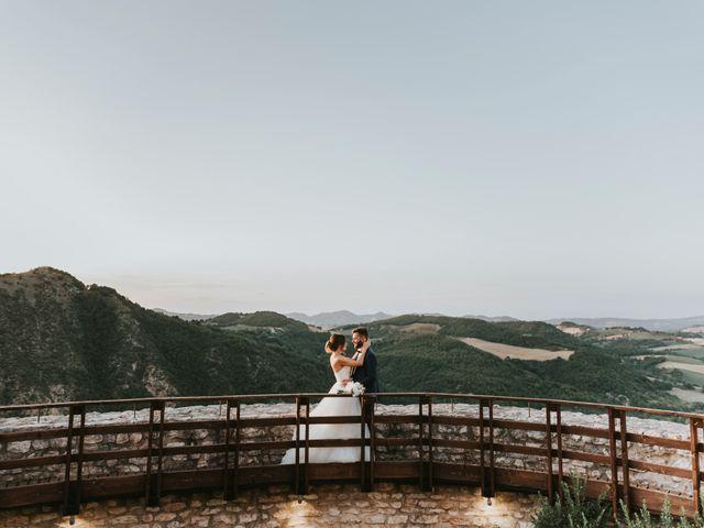 Il matrimonio di Mattia e Francesca a Arcevia, Ancona 180