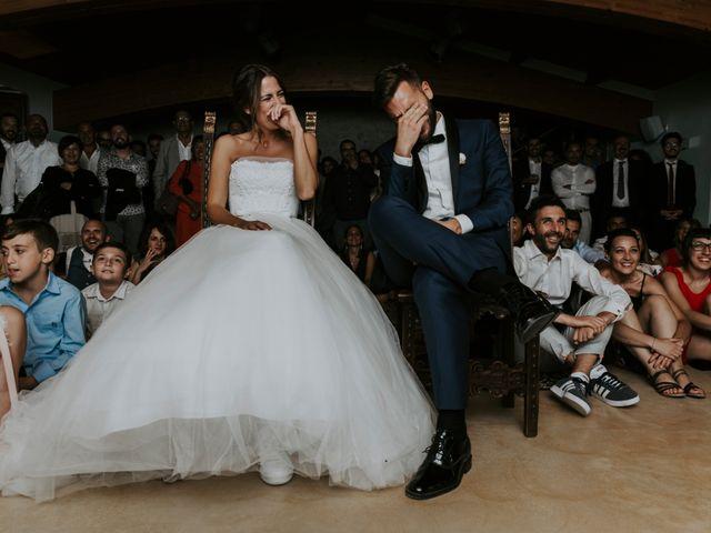 Il matrimonio di Mattia e Francesca a Arcevia, Ancona 186
