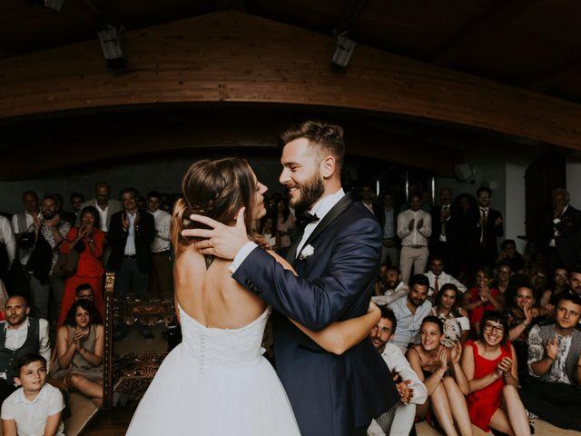 Il matrimonio di Mattia e Francesca a Arcevia, Ancona 188