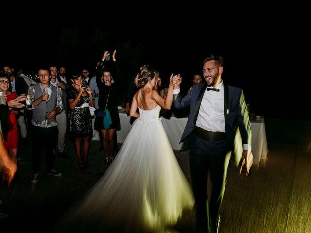 Il matrimonio di Mattia e Francesca a Arcevia, Ancona 195