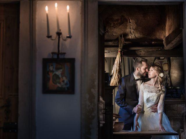 Il matrimonio di Luca e Silvia a Appiano sulla strada del vino-EppanB, Bolzano 12