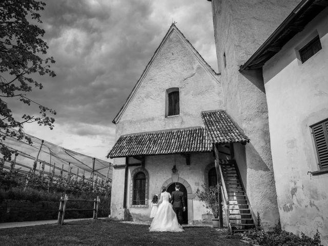 Il matrimonio di Luca e Silvia a Appiano sulla strada del vino-EppanB, Bolzano 33