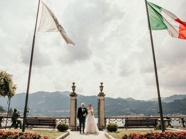 Il matrimonio di James e Valentina a Orta San Giulio, Novara 4
