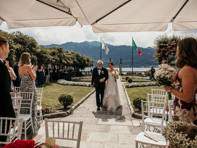 Il matrimonio di James e Valentina a Orta San Giulio, Novara 5