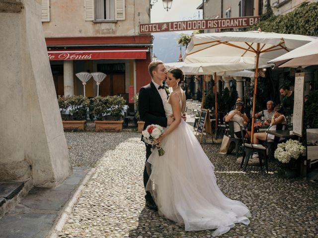 Il matrimonio di James e Valentina a Orta San Giulio, Novara 7