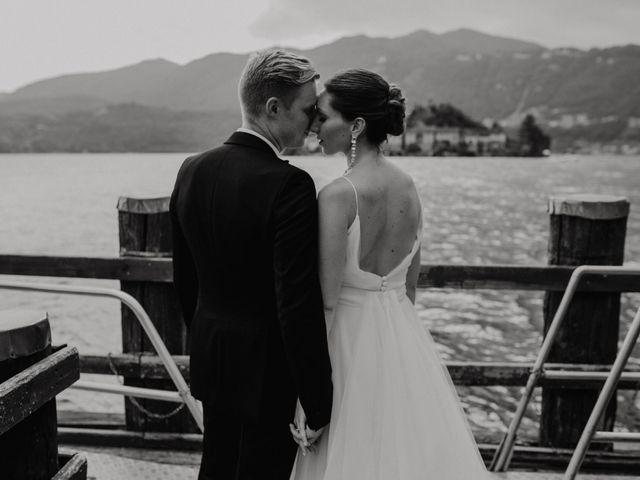Il matrimonio di James e Valentina a Orta San Giulio, Novara 9
