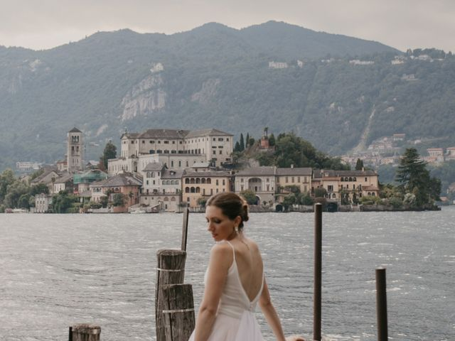 Il matrimonio di James e Valentina a Orta San Giulio, Novara 10