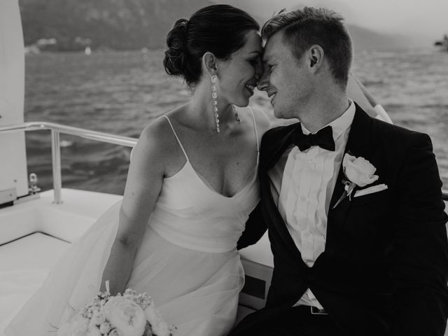 Il matrimonio di James e Valentina a Orta San Giulio, Novara 1