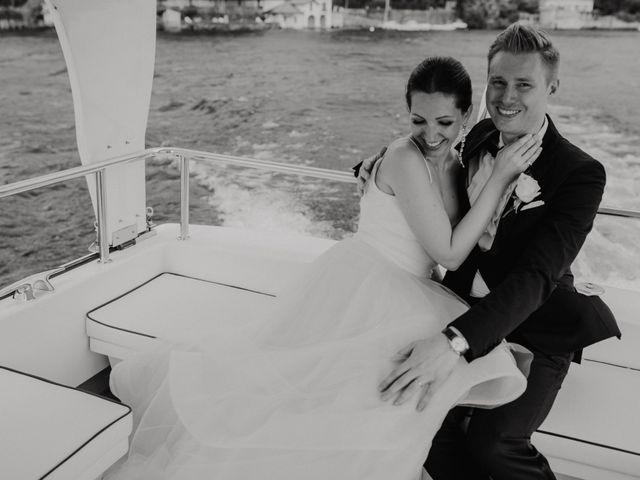 Il matrimonio di James e Valentina a Orta San Giulio, Novara 11
